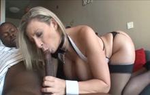 MILF Sara Jay fucked by BBC